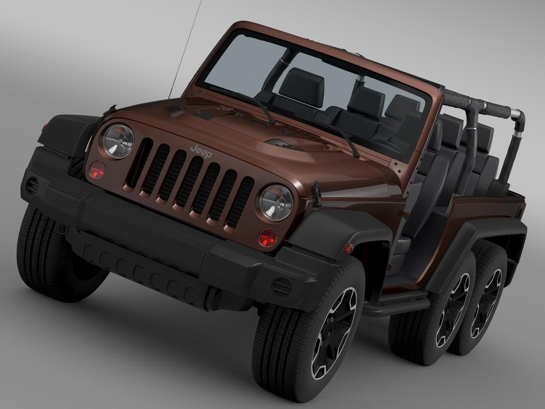 Jeep Wrangler Rubicon 6x6 2016