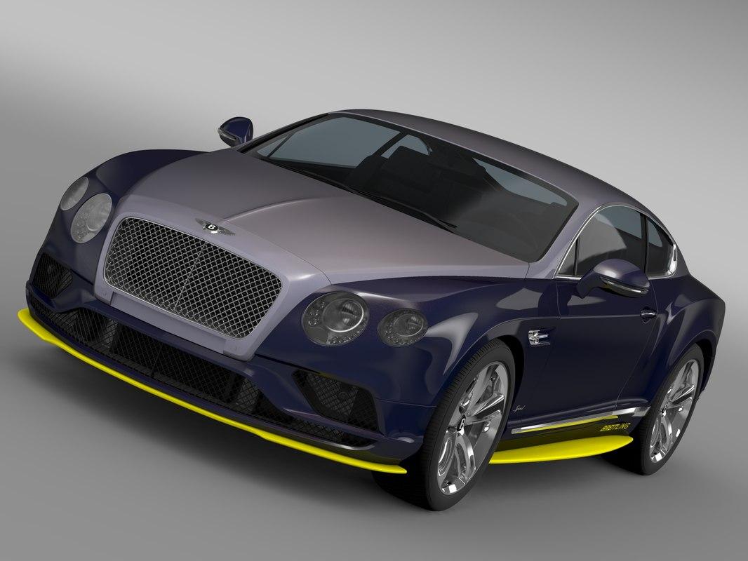 Bentley Continental GT Speed Breitling Jet Team Series 2016