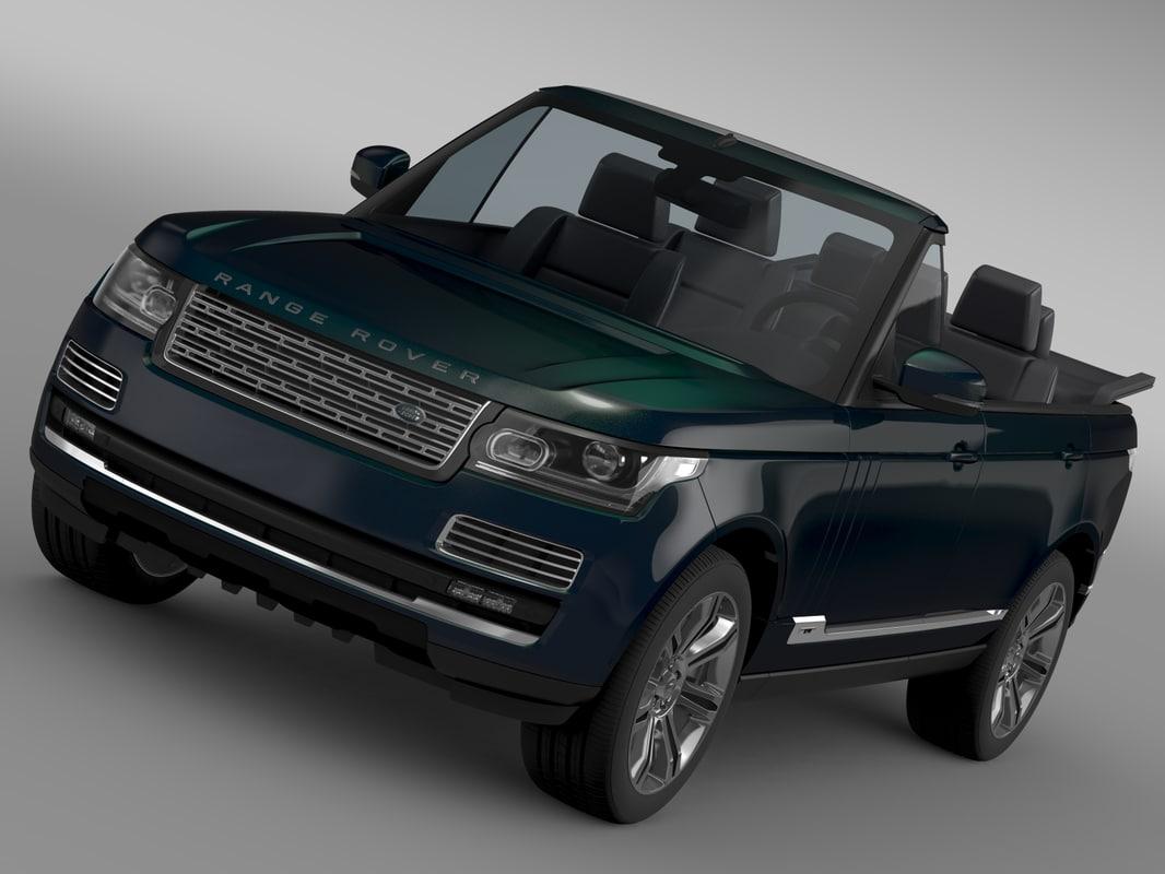 Range Rover Autobiography Black LWB Cabrio L405 2016