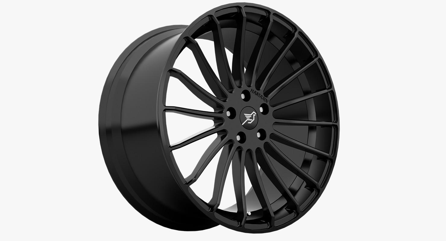 wheels german 3d model