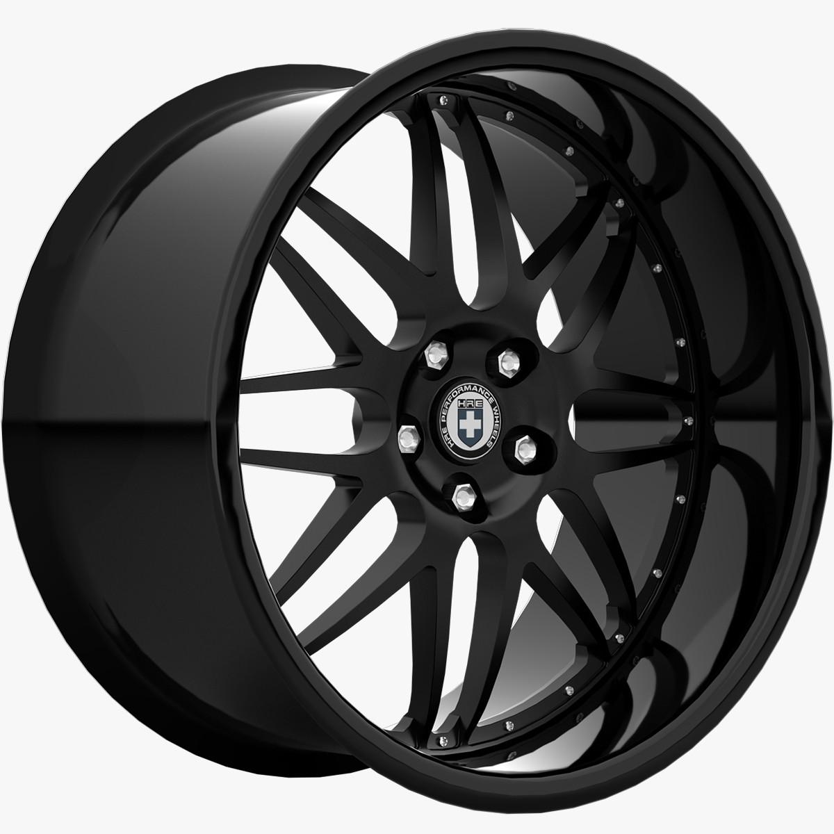 HRE C20 Black
