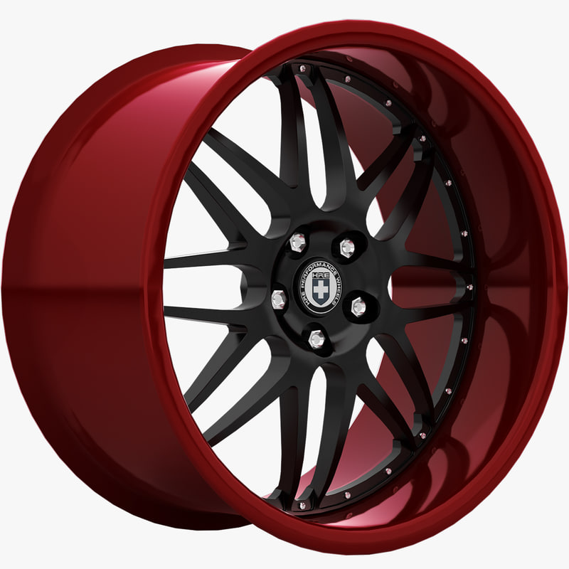3ds max hre c20 wheels