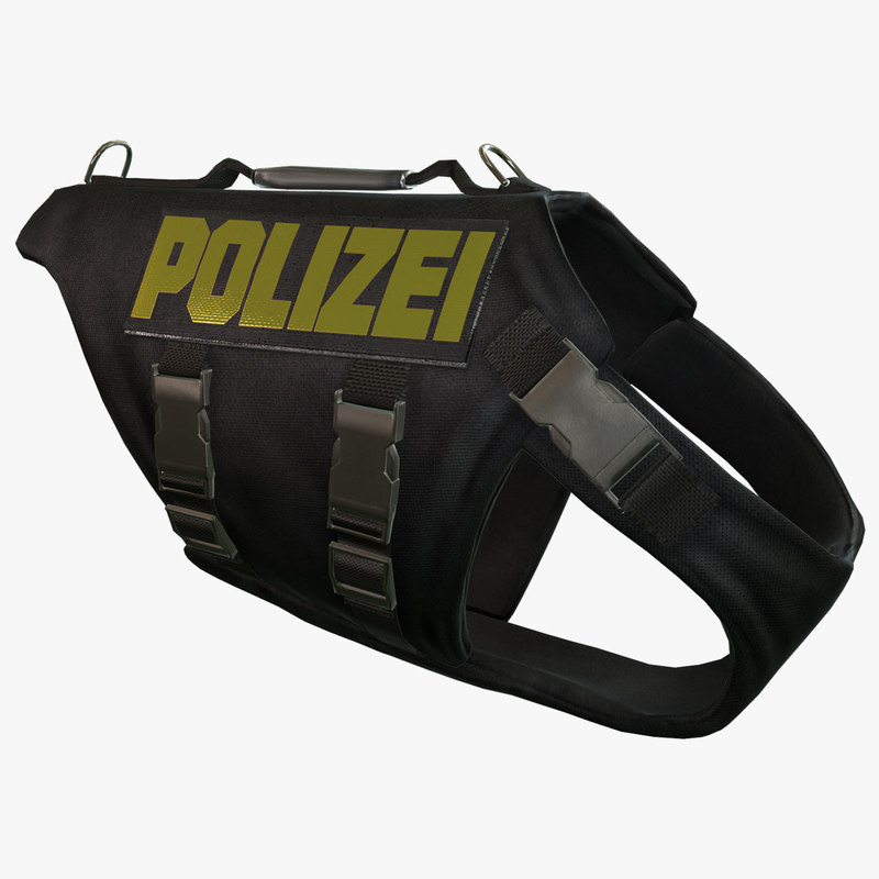 Polizei Dog Body Armor (German)