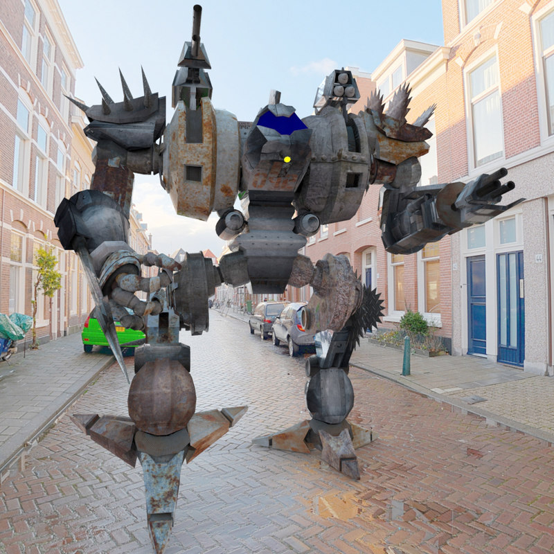 Juggar MACH Mech Robot