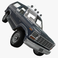 Ford Bronco 3D models