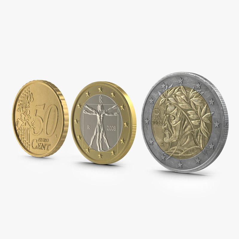 Italian Euro Coins Collection