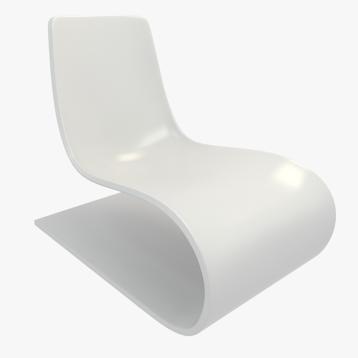 3dsmax plastic lounge chair for Pvc pipe lounge chair