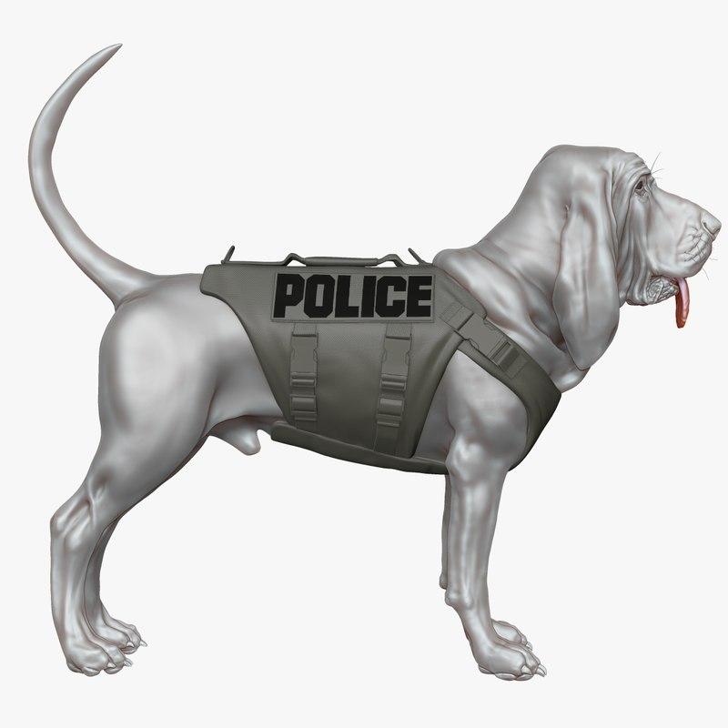 Bloodhound in Body Armor Sculpt