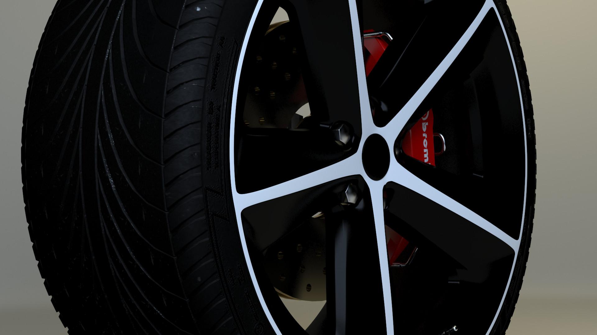Dodge Challnger SRT 8 2014 Tire