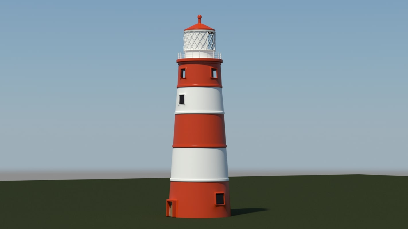 Candy Stripped Lighthouse