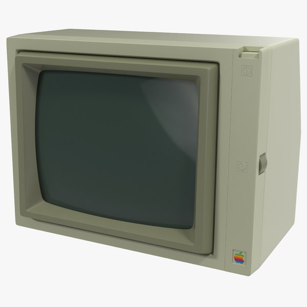 Apple Monitor II Texture Maps