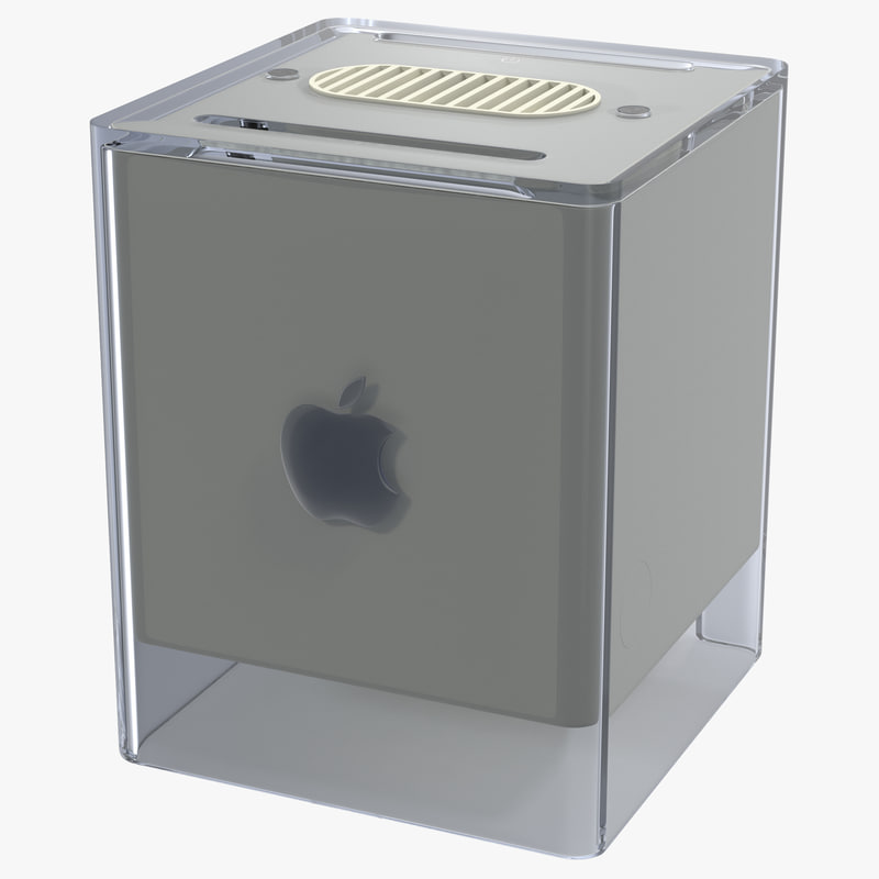 Apple Power Macintosh G4 Cube 3d model 00.jpg