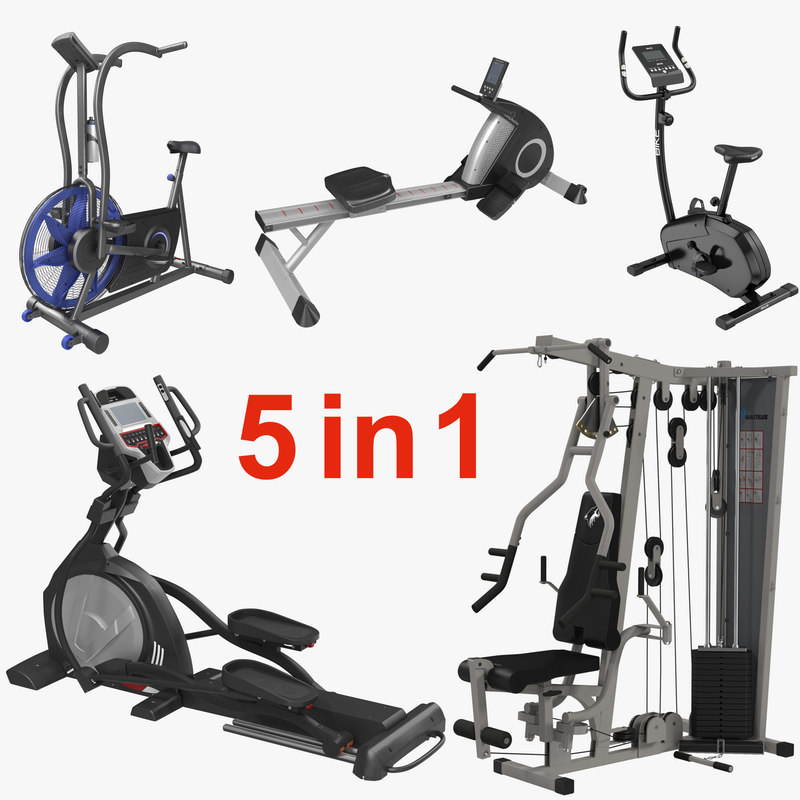 Exercise Equipment Collection 3d models 000.jpg