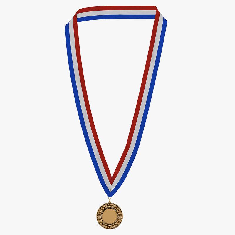 Award Medal Bronze 3d model 00.jpg