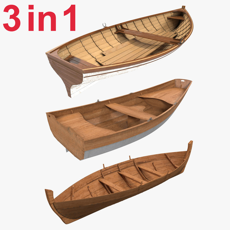 Rowboats Collection 3d models 00.jpg