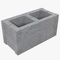 Cinder Block 3D models