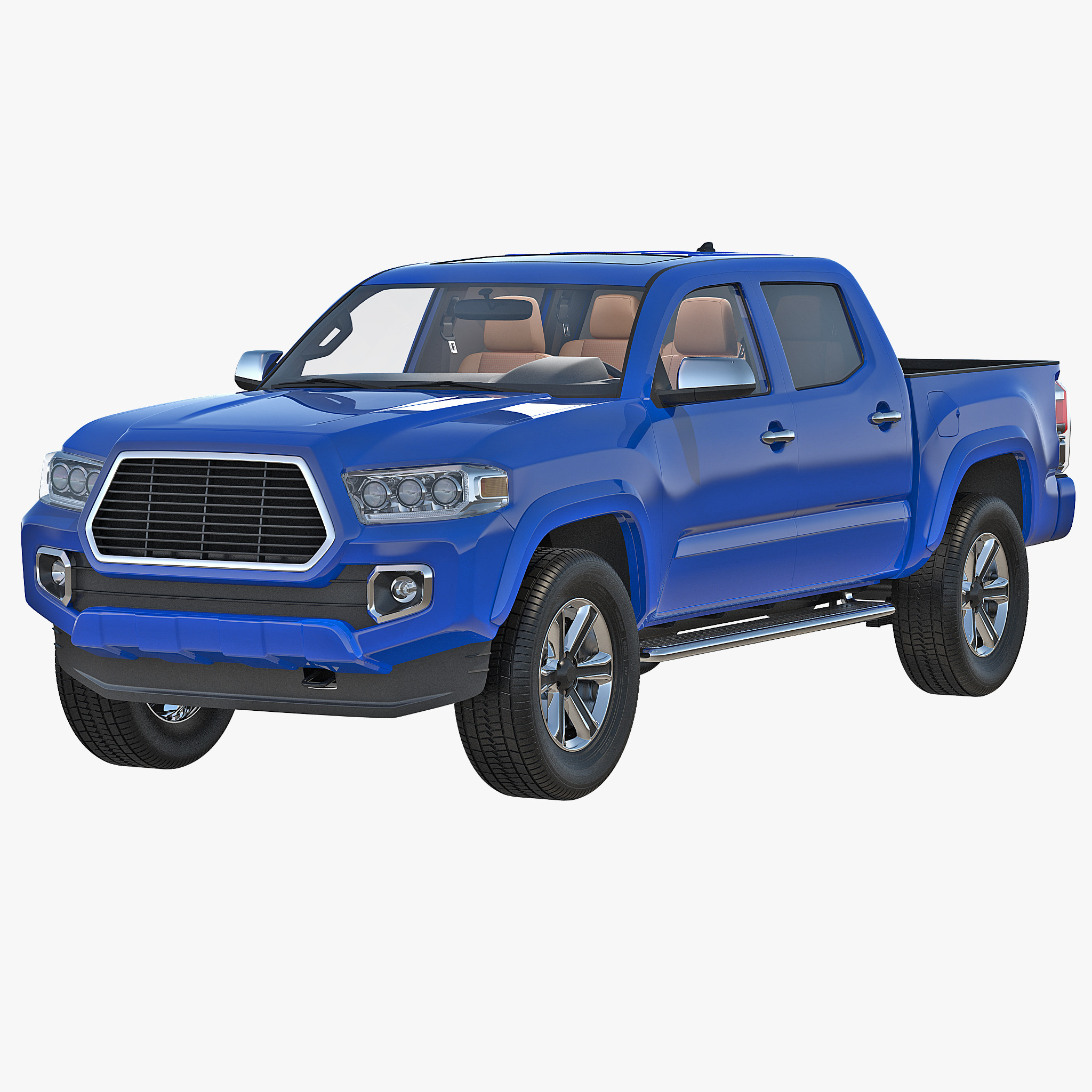Generic Pickup 3d model 00.jpg