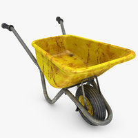 wheelbarrow 3D models