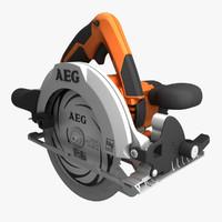 circular saw 3D models