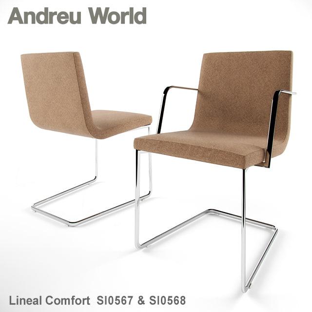 Andreu World Lineal Comfort SI0567 & SI0568.jpg