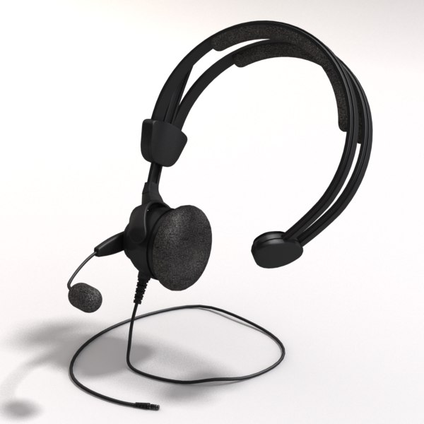 Headset 3D Models