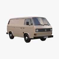 minivan 3D models