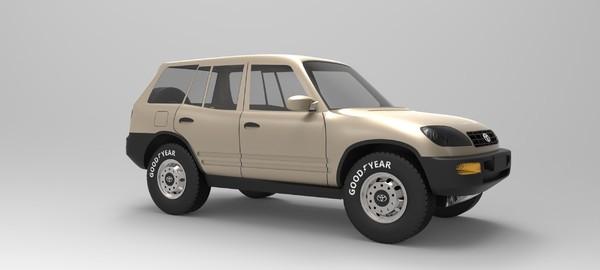 Toyota RAV 4 3D Models