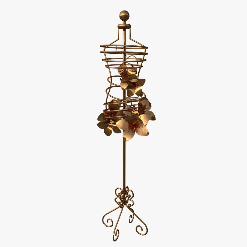 Bronze Metal Antique Style Mannequin_0000.jpg