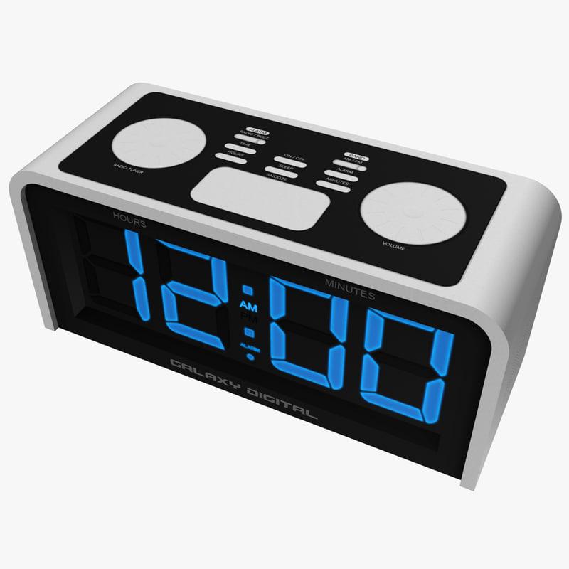 maya basic digital alarm clock. Black Bedroom Furniture Sets. Home Design Ideas