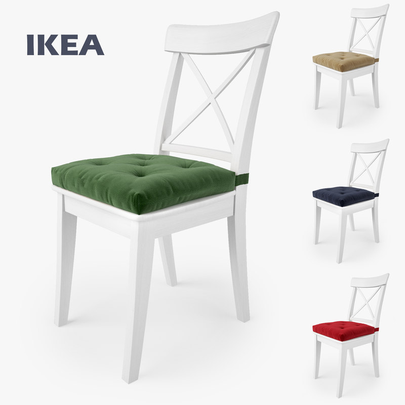 Ikea ingolf chair malinda 3d max for Chaise ingolf