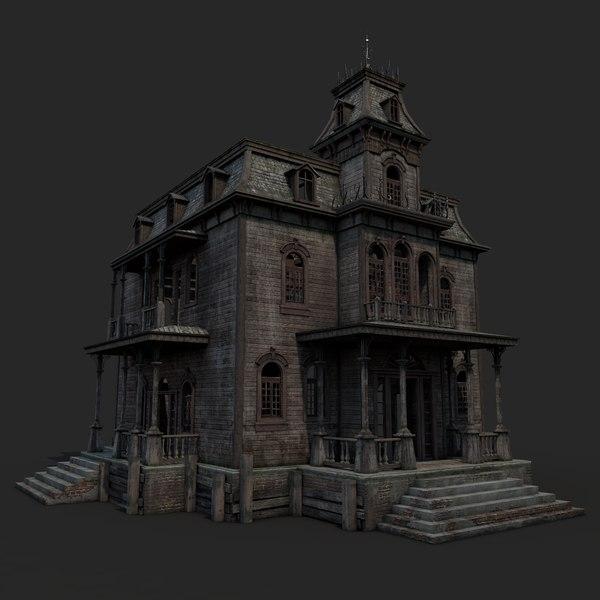 Old Abandoned House 3D Models