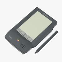 PDA 3D models