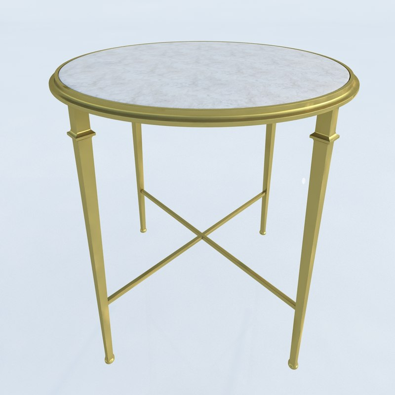 Lillian August for Hickory White Living Room Barlow Round End Table0.jpg