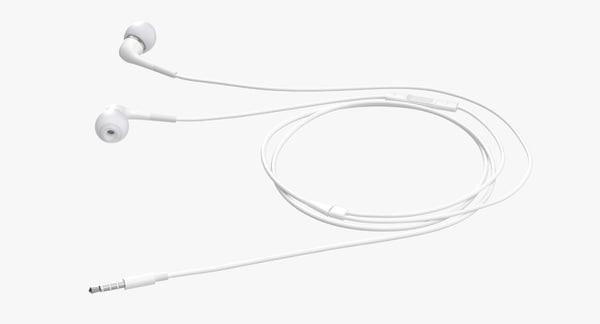In-Ear Headphones 02 3D Models