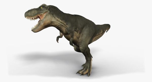 Tyrannosaurus Rex (2) (Animated) 3D Models