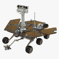 Planetary rover 3D models