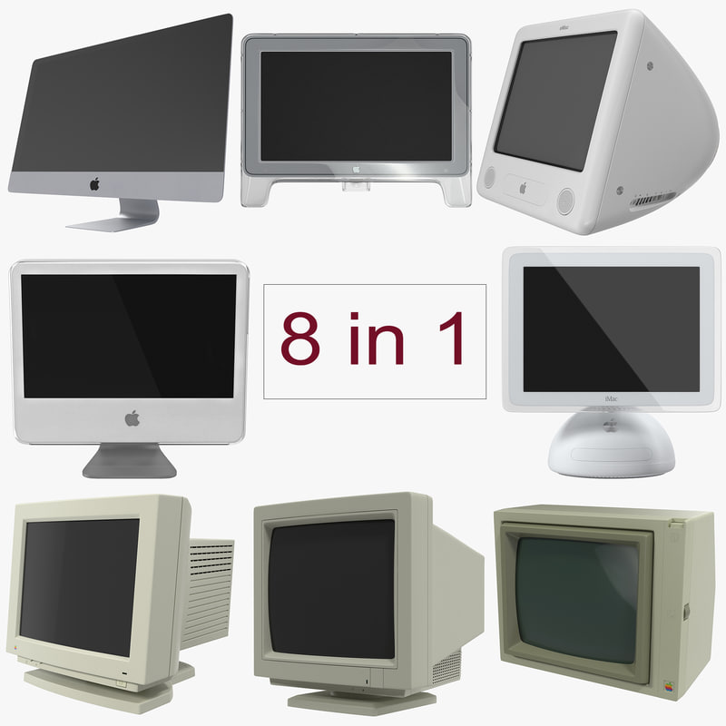 Apple Monitors Collection 3d models 00.jpg