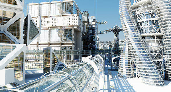 Future City HD 2 3D Models