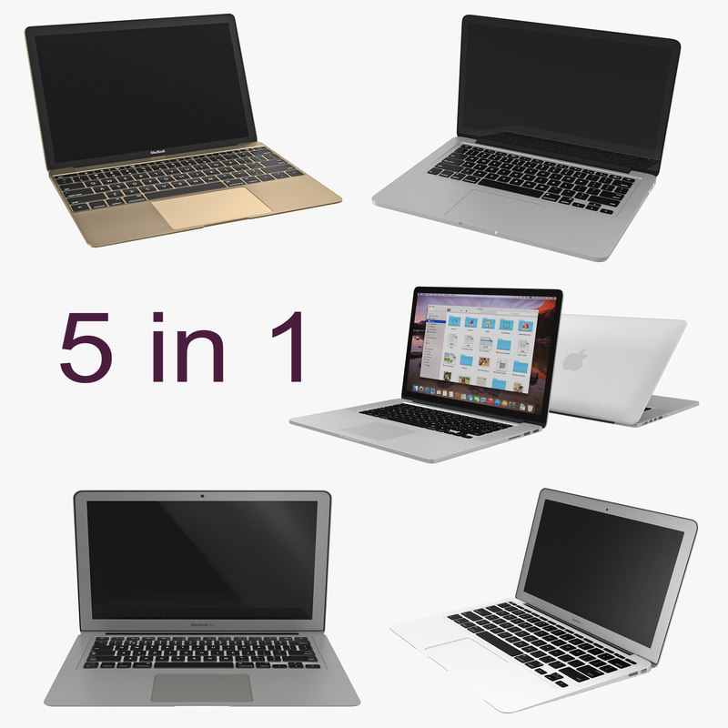 MacBooks Collection 3d models 000.jpg