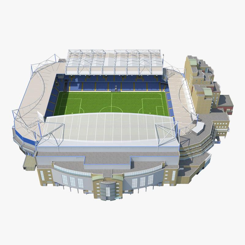 Stamford Bridge Stadium 3d model 00.jpg