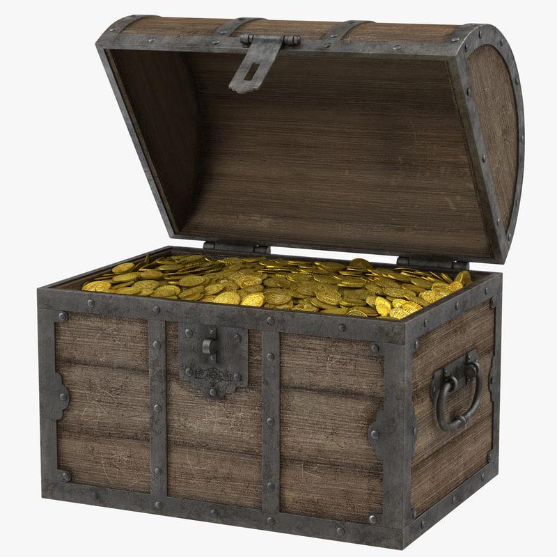 Treasure Chest 3d model 00.jpg