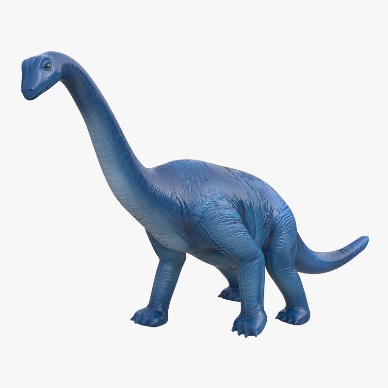 Dinosaur Toy Brachiosaurus 3d model 00.jpg