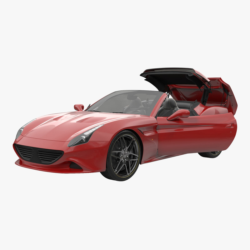 Generic Sport Car Rigged 3d model 000.jpg