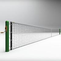 tennis net 3D models