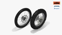 motorcycle wheel 3D models