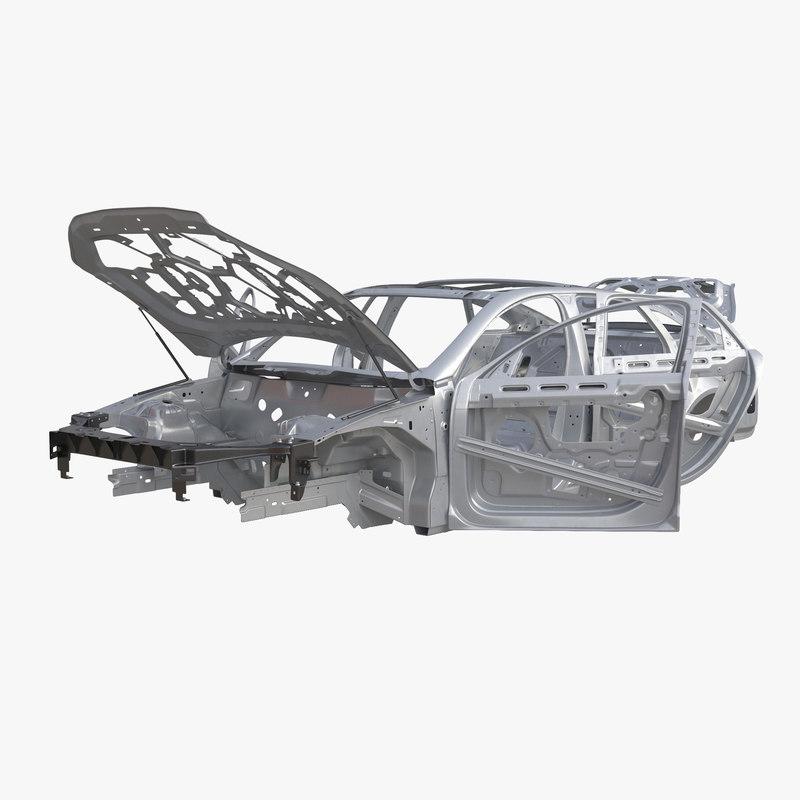 Car Frame Rigged 3d model 00.jpg