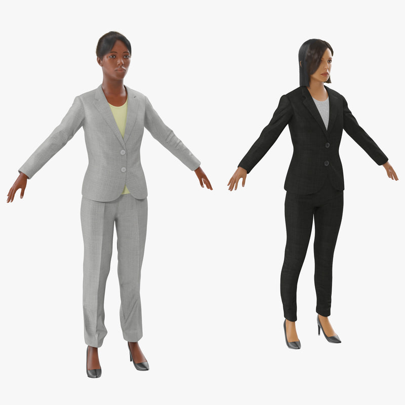 Business Womans Collection 3d models 00.jpg