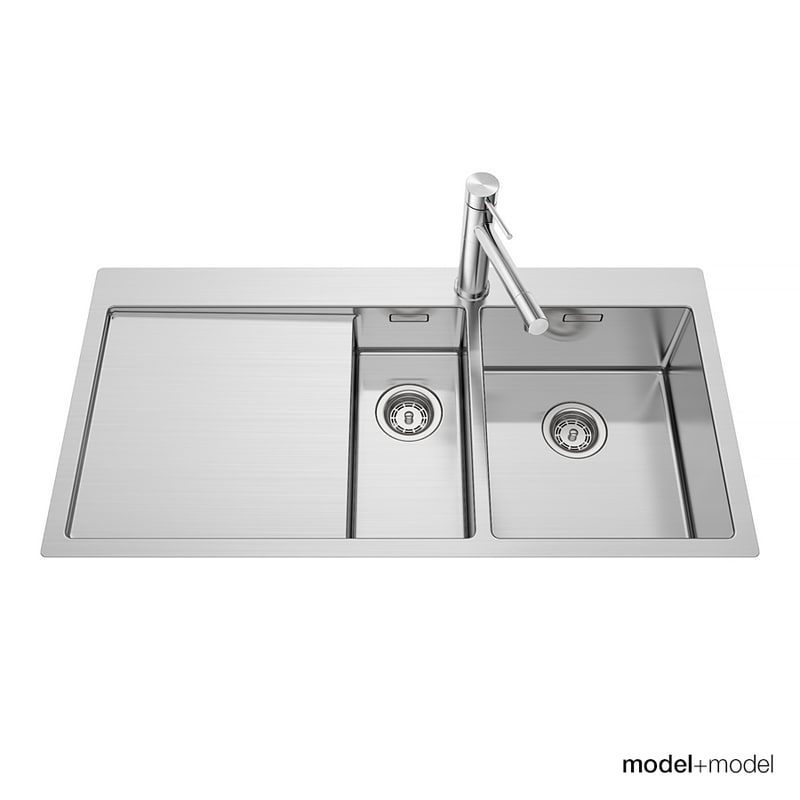 Blanco Or Franke Sinks : blanco claron sinks 3d model