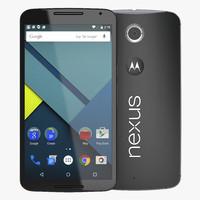 lg nexus 6 3D models