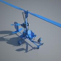 autogyro 3D models